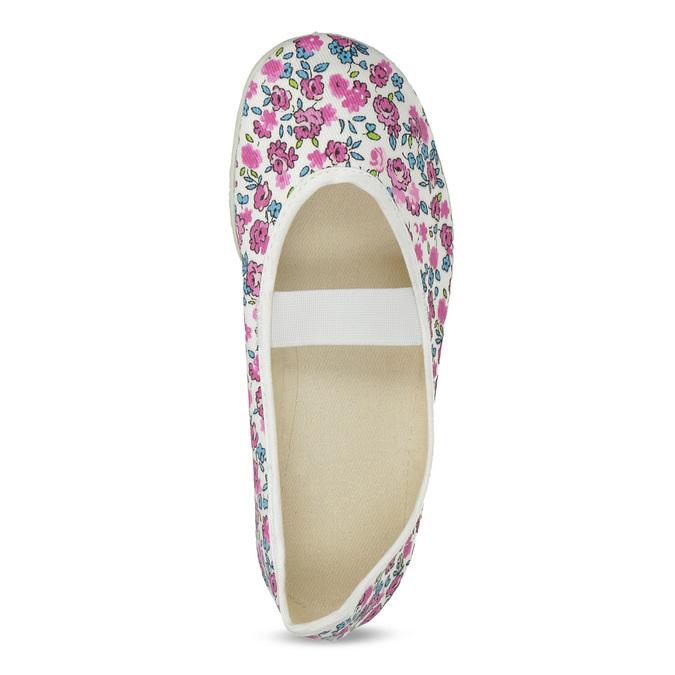 Kapcie dziecięce wkwiatki bata, biały, 379-5001 - 17