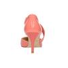 Damskie czółenka w szpic z paskiem na podbiciu bata, różowy, multi color, 724-0904 - 17