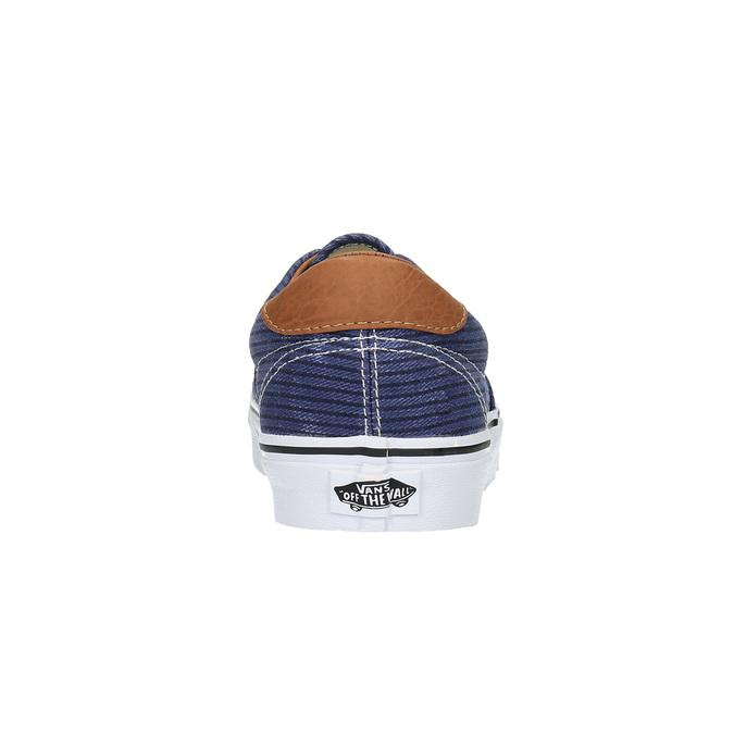 Męskie buty sportowe w codziennym stylu vans, niebieski, 849-9022 - 17