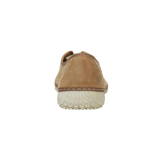 Skórzane buty sportowe weinbrenner, brązowy, 546-4238 - 17