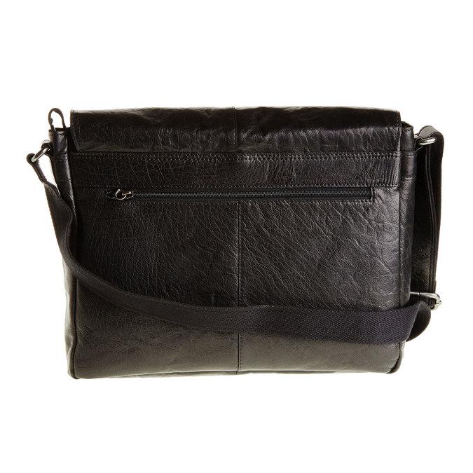 Skórzana torba bata, czarny, 964-6178 - 26