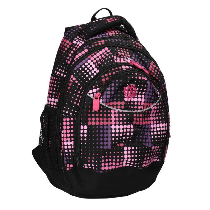 Plecak szkolny w groszki, dla dziewcząt bagmaster, różowy, 969-5601 - 13