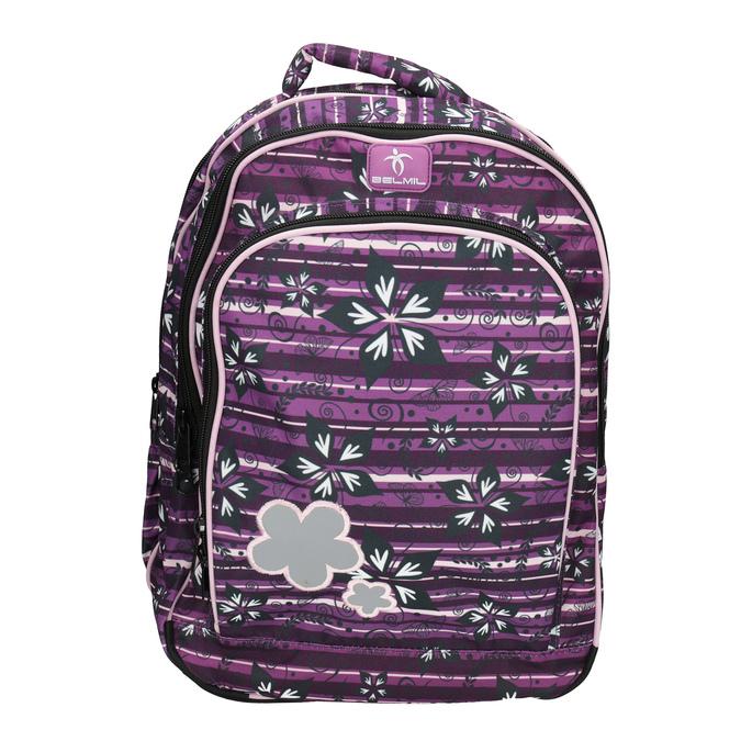 Fioletowy plecak szkolny belmil, fioletowy, 969-5628 - 19