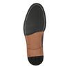 Bordowe skórzane półbuty bata, czerwony, 826-5645 - 26