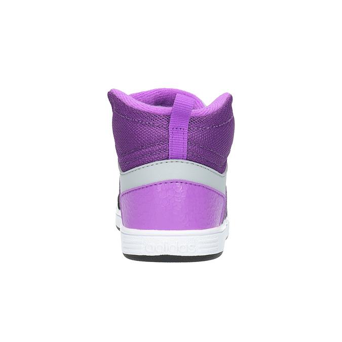Dziecięce buty sportowe do kostki adidas, fioletowy, 101-2231 - 17