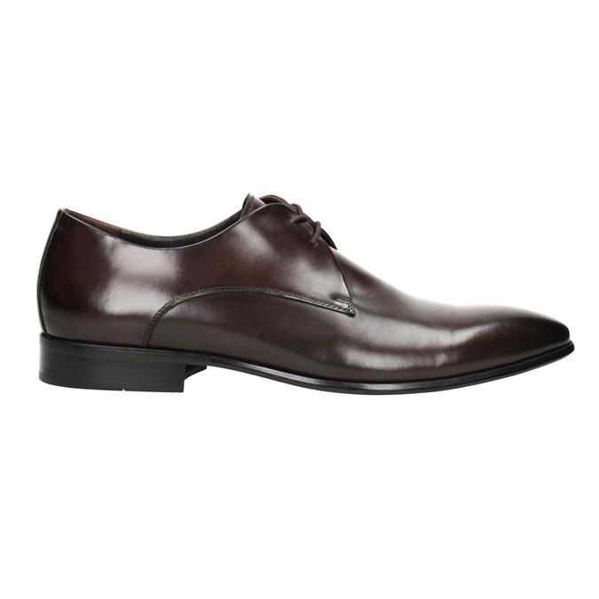 Skórzane półbuty męskie bata, brązowy, 826-4648 - 26