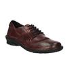Damskie skórzane buty bata, czerwony, 526-5601 - 13