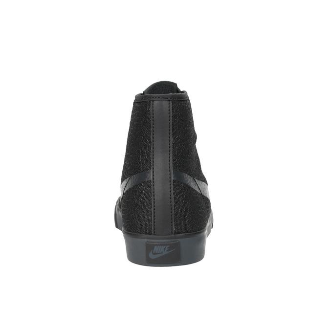 Czarne trampki do kostki nike, czarny, 501-6342 - 17