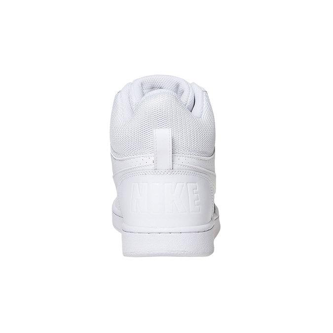 Białe trampki za kostkę nike, biały, 801-1332 - 17