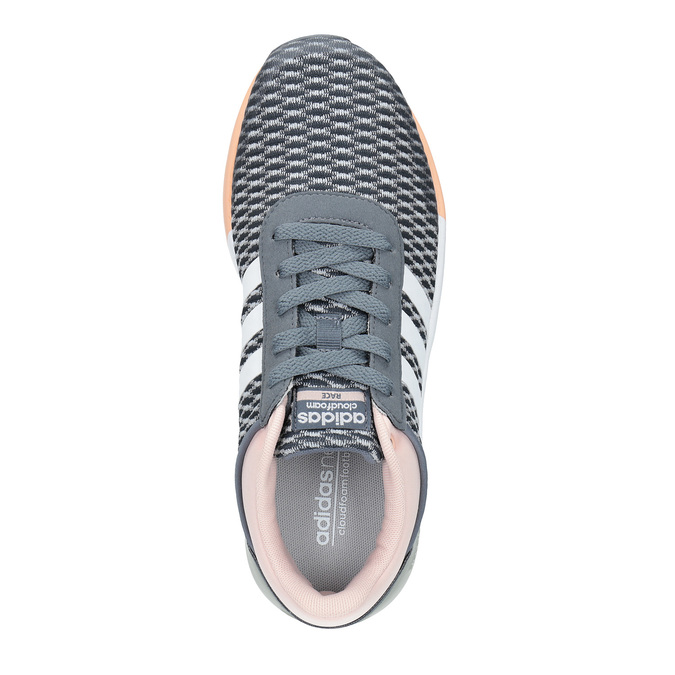 Damskie buty sportowe adidas, szary, 509-2822 - 19