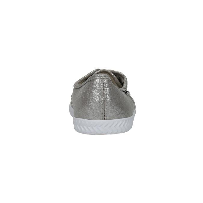 Srebrne trampki damskie tomy-takkies, srebrny, 519-1690 - 17