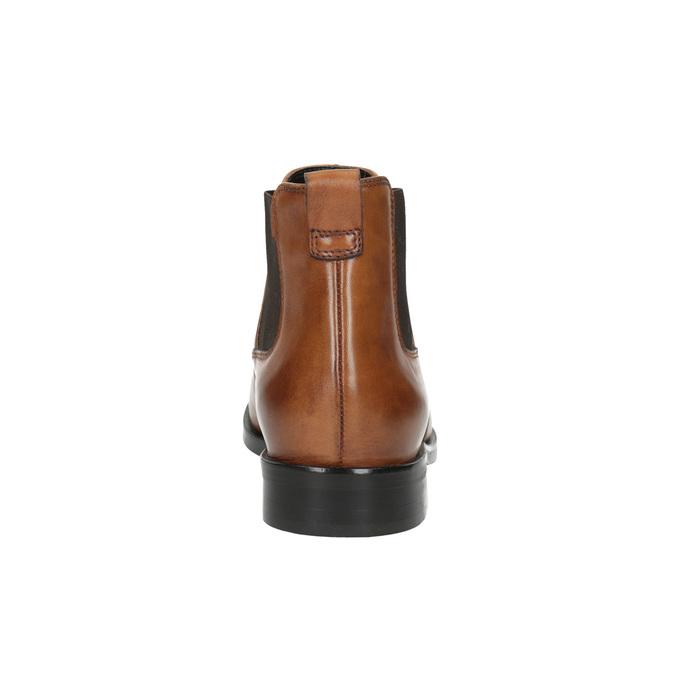 Chelsea boots damskie ze skóry bata, brązowy, 594-3902 - 17