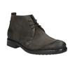 Zamszowe buty za kostkę bata, szary, 846-6611 - 13