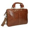 Brązowa torba męska ze skóry bata, brązowy, 964-3204 - 13