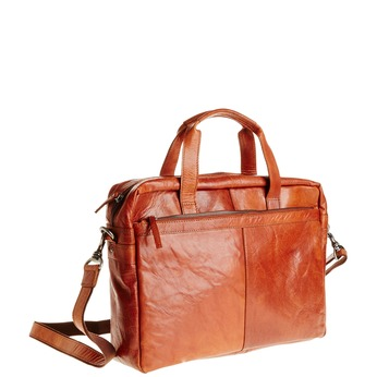 Skórzana torba bata, brązowy, 964-3153 - 13