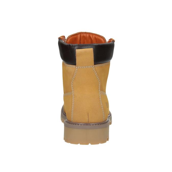 Skórzane buty damskie weinbrenner, brązowy, 596-8629 - 17