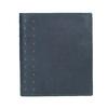 Skórzany portfel zperforacją bata, niebieski, 944-9175 - 26
