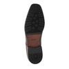 Skórzane męskie półbuty typu Derby bata, brązowy, 824-4752 - 26