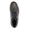 Skórzane buty do kostki bata, szary, 894-2643 - 26