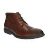 Męskie skórzane buty do kostki bata, brązowy, 894-4671 - 13