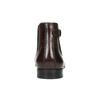 Skórzane buty męskie za kostkę bata, brązowy, 896-4655 - 17