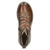 Skórzane buty z oryginalnym sznurowaniem bata, brązowy, 894-4180 - 26