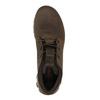 Skórzane buty męskie za kostkę merrell, brązowy, 806-4842 - 19