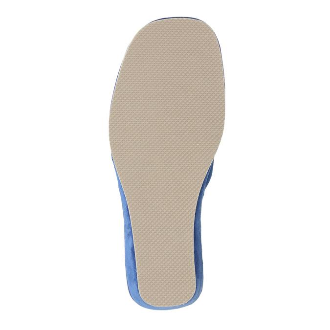 Kapcie damskie bata, niebieski, 679-9606 - 26
