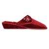 Kapcie damskie na koturnie bata, czerwony, 679-5607 - 15