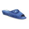 Kapcie damskie bata, niebieski, 679-9606 - 13