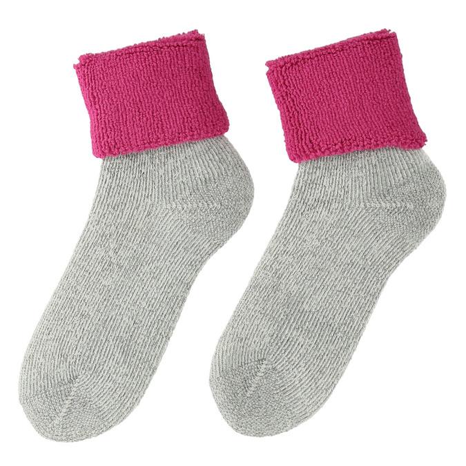 Skarpetki termiczne damskie, różowy, 919-5382 - 26