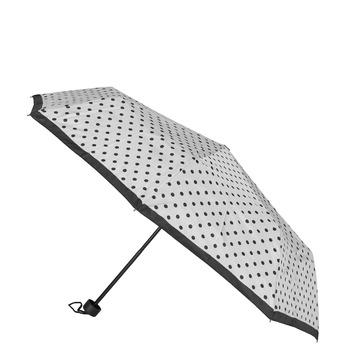 Składana parasolka w kropki bata, biały, 909-8601 - 13