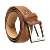 Brązowy skórzany pasek męski bata, brązowy, 954-4153 - 13