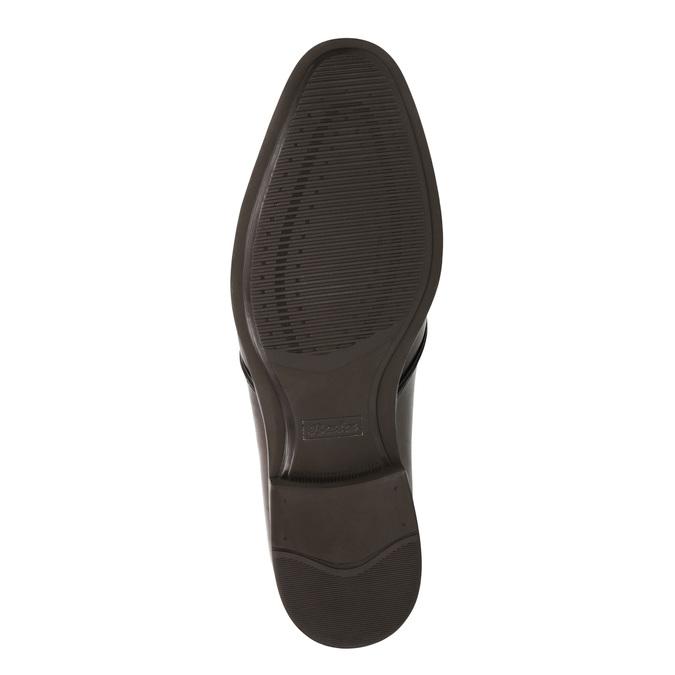 Brązowe półbuty zeskóry bata, brązowy, 824-4754 - 26