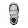 Dziecięce buty za kostkę, zzapięciem na rzepy bubblegummer, szary, 111-2616 - 19