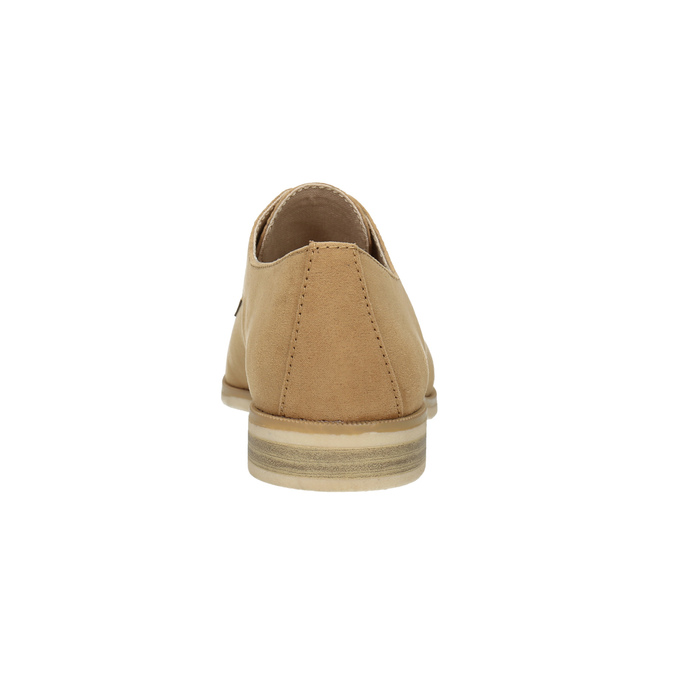 Półbuty angielki damskie bata, brązowy, 529-3632 - 17