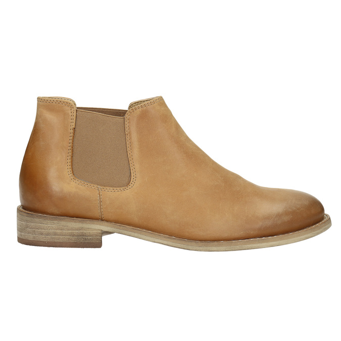 Skórzane buty Chelsea Boots bata, brązowy, 594-3432 - 15