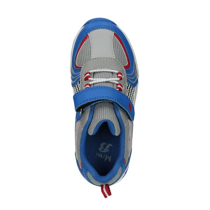 Sportowe trampki dziecięce mini-b, niebieski, 211-9172 - 19