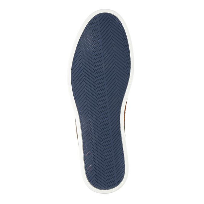 Nieformalne półbuty ze skóry bata, beżowy, 843-8623 - 26