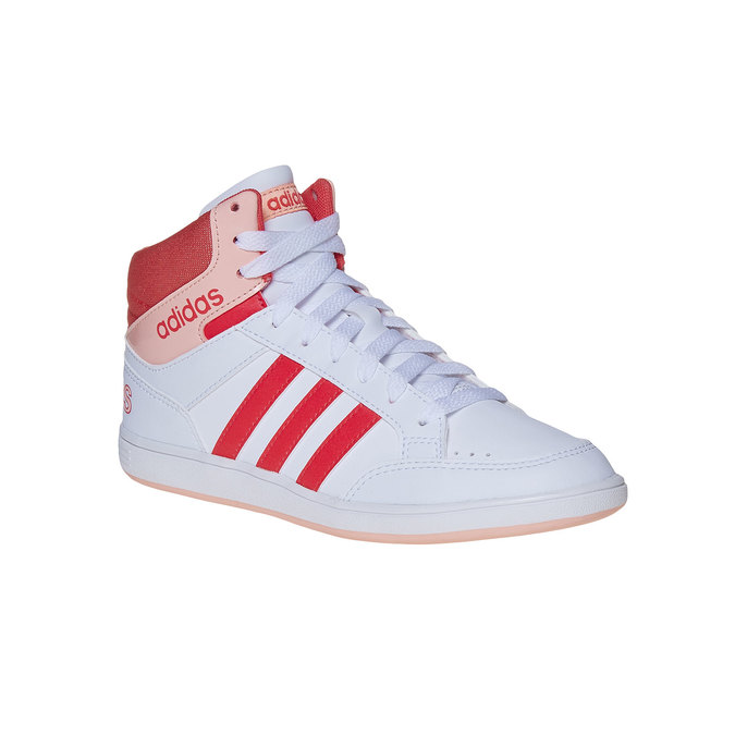 Trampki dziewczęce za kostkę adidas, biały, 401-5253 - 13