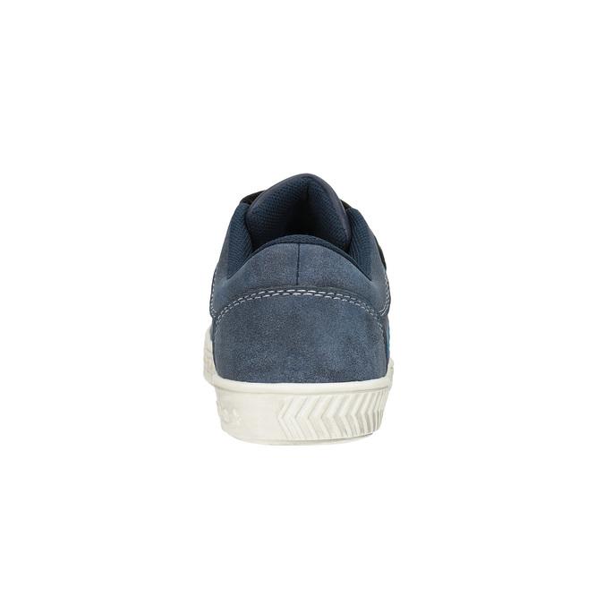 Dziecięce buty sportowe z przeszyciami mini-b, niebieski, 411-9604 - 17