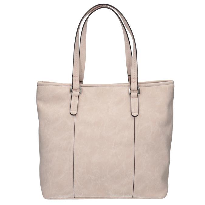 Różowa torba zperforacją bata, różowy, 961-5711 - 19