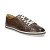 Męskie skórzane buty sportowe bata, brązowy, 846-4617 - 13