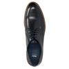 Półbuty ze skóry na nieformalnej podeszwie bata, niebieski, 826-9820 - 19