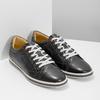 Męskie skórzane buty sportowe bata, czarny, 846-6617 - 26