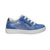 Dziecięce skórzane buty sportowe mini-b, niebieski, 226-9600 - 15