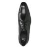 Półbuty męskie wykonane wcałości ze skóry bata, czarny, 824-6836 - 19