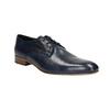 Niebieskie półbuty męskie ze skóry bata, niebieski, 826-9836 - 13
