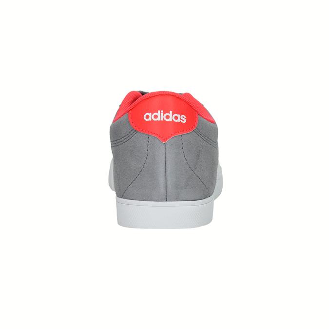 Szare trampki damskie adidas, szary, 503-2976 - 17