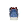 Niebieskie skórzane trampki dziecięce mini-b, niebieski, 313-9601 - 17